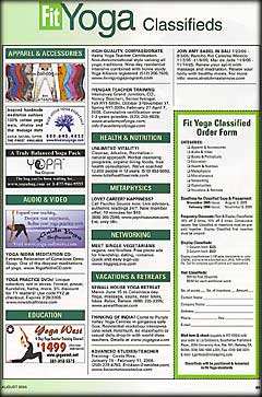 Fit Yoga, Yoga International, Yoga Journal, Yoga + Joyful Living - YOPA yoga pack.