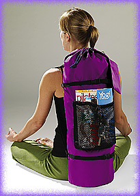 YOPA the original Yoga and Pilates crossover backpack.
