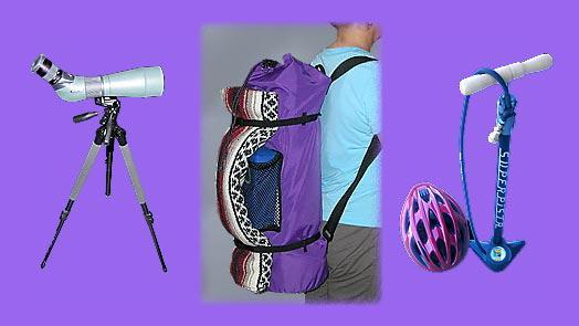 Yoga backpack  works for survey / surveying equipment, photography equipment, bike / biking equipment.