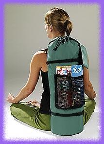 Yoga back pack, multi-purpose back pack, cross over back pack, utility back pack in several colors.
