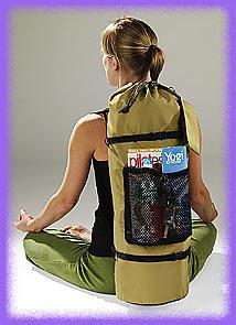 Pilates, multipurpose,  crossover,  sport backpack   in several colors.